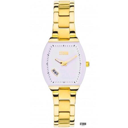Женские наручные часы STORM mini exel gold white 13