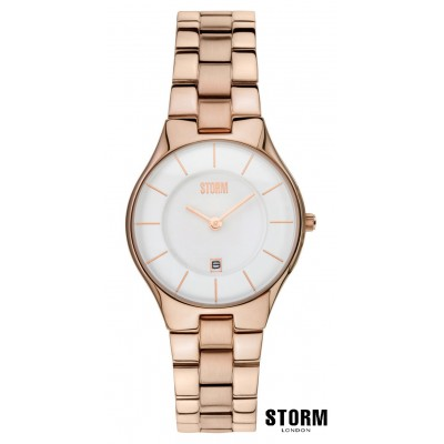 Женские наручные часы STORM slim - x - rose gold 7674
