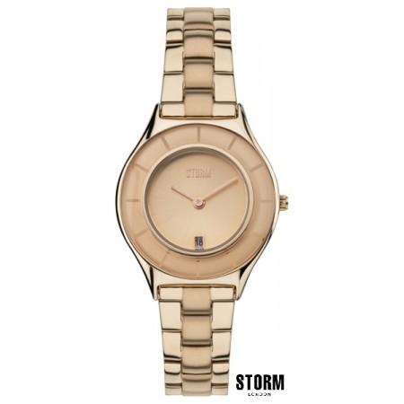 Женские наручные часы STORM  slimrim rose gold 03775
