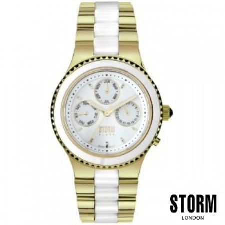 Женские наручные часы STORM Black zantine gold 00280